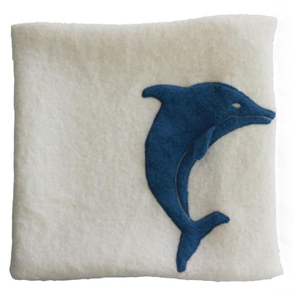 Kissen Delfin